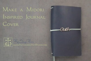 Free Video-How to Make a Midori Inspired Journal Cover
